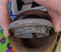 Horn button clock