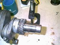 Camshaft drive gear
