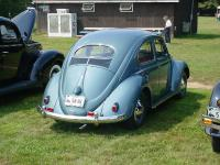 John Kelly's magnificent 1954 VW at the 2005 Jazz Festival antique auto gathering