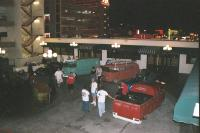 Vegas Friday night at Binions KCW party