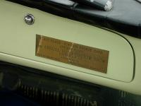 dash plaque on early ghia