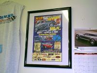 Vegas Bg In signed poster