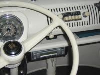 CD Stereo Under Dash
