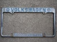 Woodland Hills plate frame