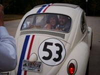 Herbie helps out at a wedding!