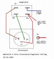 Altenator wiring