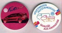 2 VW promo pins