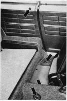 seat belt mount locations '69 coupé ghia