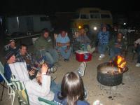 Arizona Bus Club Campfire
