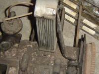 oil cooler brace
