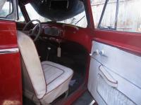 OG red white 55 Karman interior