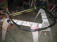 rear hoop bent before intalling it