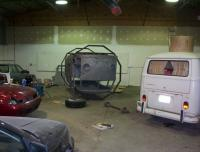 The vdubs are taking over the new shop.