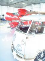Chilllin in hangar