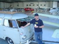 Chillin in hangar