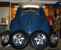 1952 VW beetle w/OG Raders