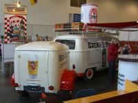 becks beer bus w/westfalia trailer