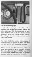 '71 Bay brake warning light