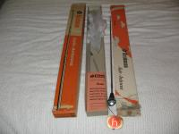NOS Hirschmann red tip center mount antennas