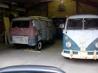 '66 Riviera brought home, '66 Standard MicroBus also pictured