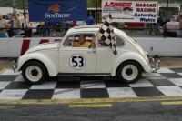 Herbie in Victory Lane.