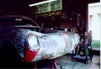 Early Bug Headlights in Ghia