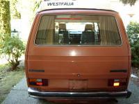 The rear