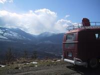 Sauk Mountain Rd. in North Cascades