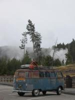 55 Westfalia in Yellowstone Nat'l Park