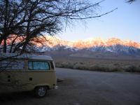 January in the Sierra Nevadas