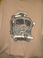 Simple shoes- Camper Bus Shirt