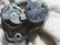 Rear locking decklid latch for Baywindows