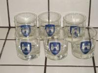 Wolfsburg Crest drinking glasses