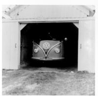 Vintage photo of a pressed bumper 15 window