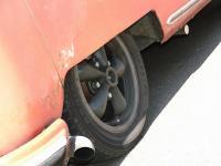Rick James his new wheels.