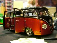 Pimped out scale model bus