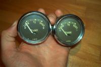 VDO 49-52 brown face fuel gauges
