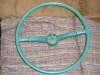 Hydrate Green steering wheel