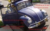 Stolen '67 Blue Bug w/copper hammer tone engine