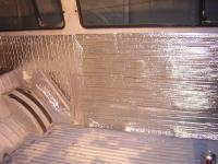 Stage 3 Insulation - Top layer for air gap