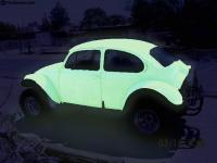 glowing bedliner baja bug