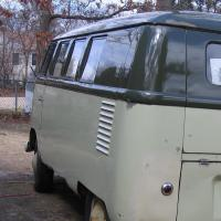 """The"" 57 palm/green sand/green bus polished up"