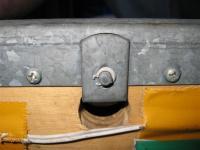 Rear bench latch assembly