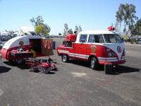 Fire Truck Double Cab display