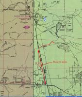 Base Camp map/directions MDR 200