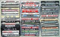 Bulk lot Dealer Plate Frames