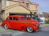 1940 Chevy and some Dubs