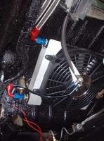 oil cooler mounting