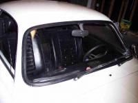 '72 ghia window before & after