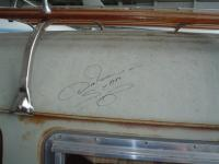 "Don ""The Snake"" Prudhomme signed my bus"